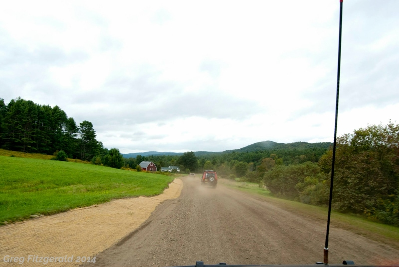 It wasn't all rock crawling; there were quintessential Vermont scenes in the middle, barns and fields and cows and verdant hills and mountains.
