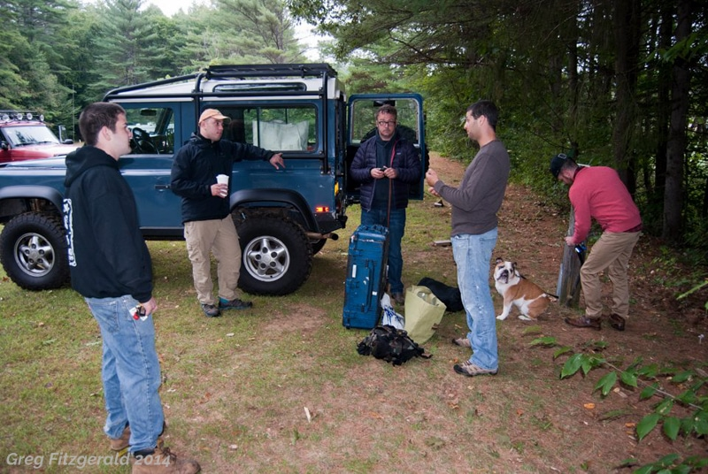 The others? Well rested. I pull in in Spenny to the camp, meet some new faces, put some faces to names, see some old friends.