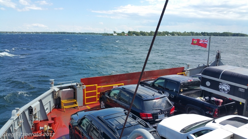 To Wolfe Island.